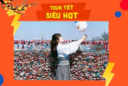 Tour Hàn Quốc Tết Âm Lịch Seoul – Trượt Tuyết Ski Resort – Lotte World – Nami