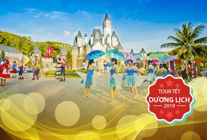 Tour Nha Trang VIP Tết Dương Lịch Bar Trên Biển, Thưởng Thức Buffet 90 Món 3N3Đ