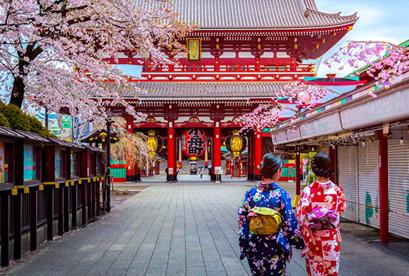 Tour Nhật Bản Lễ 2/9 Tokyo – Owakudani – Yamanashi – Fuji