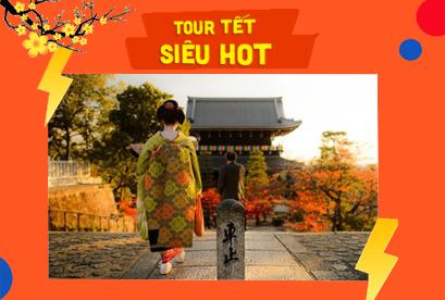 Tour Nhật Bản Tết Âm Lịch Kobe – Osaka – Kyoto – Fuji – Tokyo