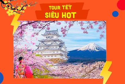 Tour Nhật Bản Tết Âm Lịch Tokyo – Kawazu – Sakura – Yamanashi