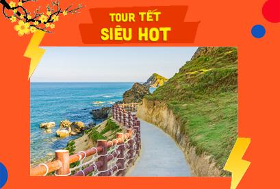 Tour Quy Nhơn Tết Âm Lịch  Kỳ Co Eo Gió tham quan Khu du lịch sinh thái Hầm Hô
