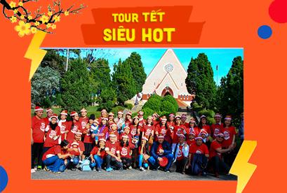 Tour Đà Lạt Tết Âm Lịch, Du Thuyền Hồ Tuyền Lâm, Tiệc BBQ Đường Hầm Đất Sét