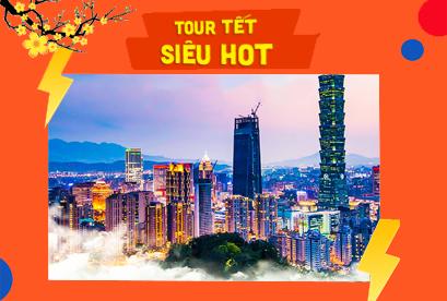 Tour Đài Loan Tết Âm Lịch Đài Trung – Tân Trúc – Đài Bắc