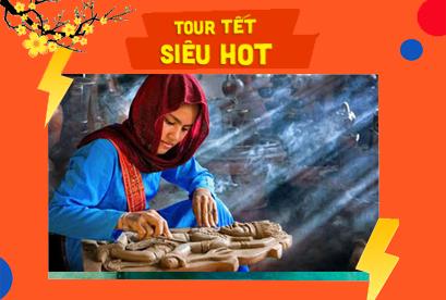 Tour Đảo Bình Hưng, Ninh Chữ, Tết Âm Lịch, Gốm Bàu Trúc Dệt Mỹ Nghiệp