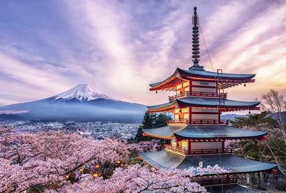 Tour Nhật Bản Tokyo, Narita, Fuji, Yamanashi khuyến mãi
