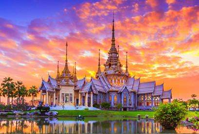 Tour Thái Lan 4N3D ,Chợ nổi - thứ 5 hàng tuần VJ803