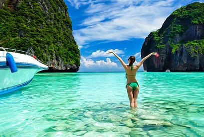 Tour Thái Lan Phuket Đảo Phi Phi, Siom Show, Patong Walking Street