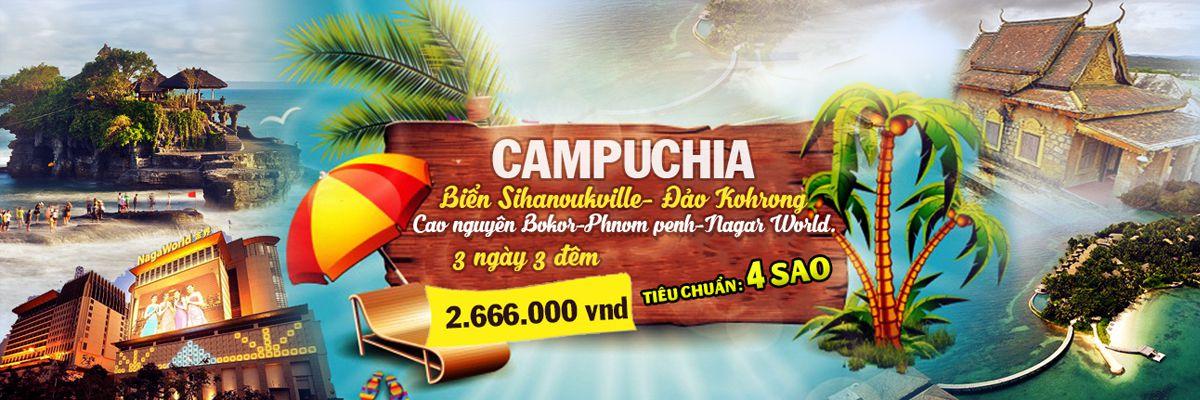 tour cambodia giá rẻ